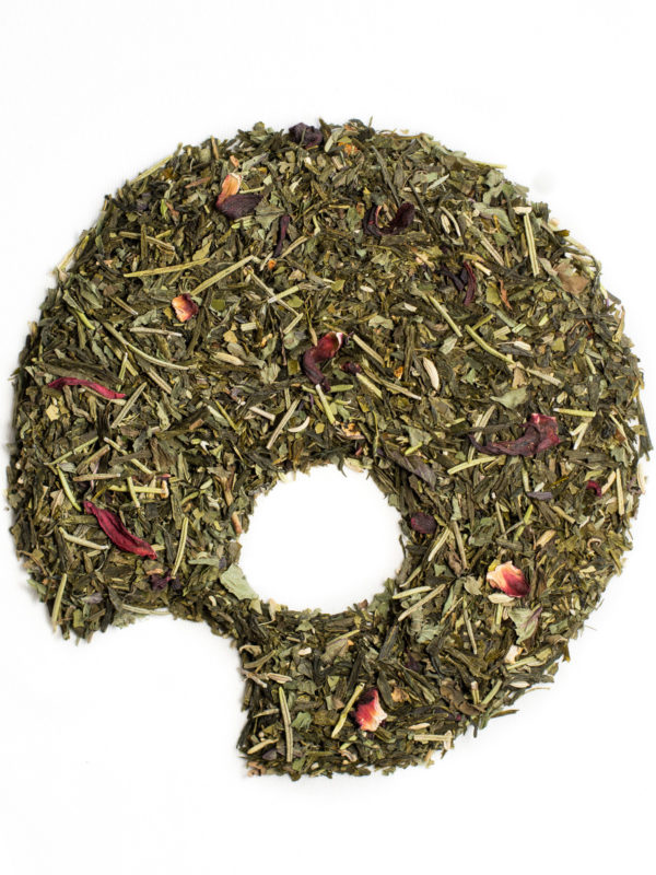detox green tea loose leaves organic ugami shape