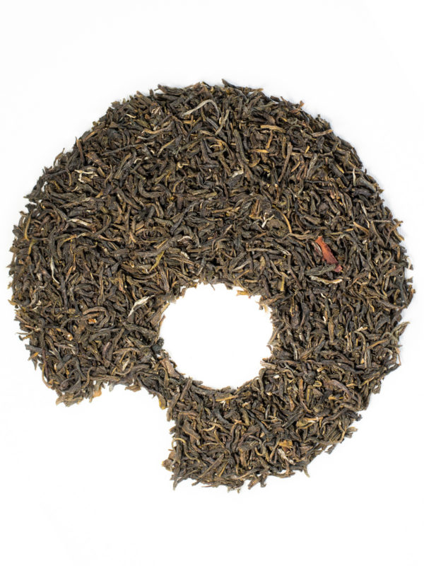 jasmine green tea organic loose leaves ugami shape